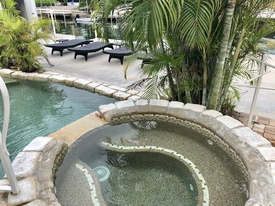 Photo for FISHERMANS PARADISE 3/2 PRIVATE POOL,HOT TUB ,QUICK ACCESS TO OCEAN,60 FT DOCK,,