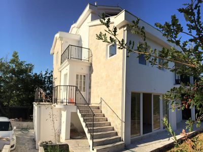 Photo for New spacious villa Patrick House with beautiful view of Tivat Bay