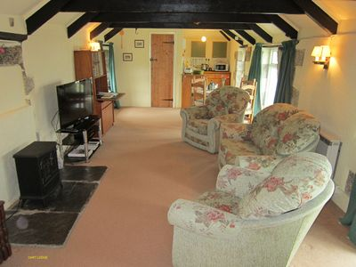 Photo for The Cart Lodge (sleeps 4), Menifters Holiday Cottages, Porthallow, Cornwall