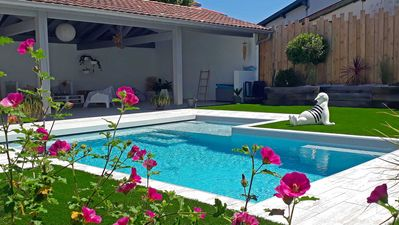 Photo for House with swimming pool 7mns beaches