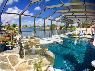 Photo for Serenity, Gorgeous Water Views,Heated Elec Pool & Spa, Large Outdoor Patio, WIFi