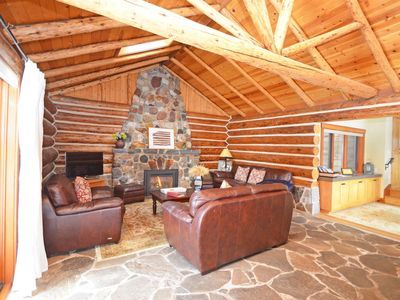 Photo for North Lake Tahoe Log Cabin Charm in the Heart of Tahoe City - Large Sunny Yard