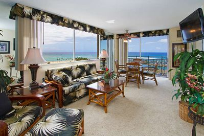 The Living Room with Spectacular Ocean Views! - The Living Room with Spectacular Ocean Views!