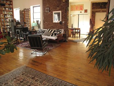 Photo for NYC In Your Own Sunny Serene Spacious Amazing East Village Artist Loft!