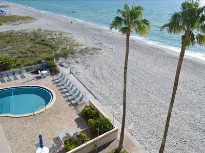 Photo for Renovated in 2018 - Fifth Floor Condo with Direct Gulf View Unit 504