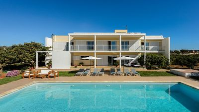Photo for Large Modern Villa with Private Pool in an Excellent Family Friendly Location 900 m from the Beach!