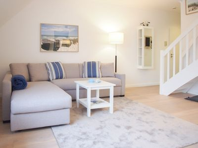 Photo for High quality loft apartment for 2-4 people in a great location close to the beach, balcony, Wi-Fi, elevator and parking space