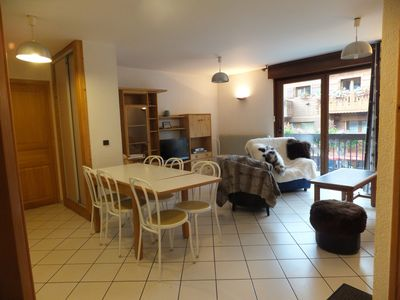 Photo for 8/10 people rent apartment center of Morzine