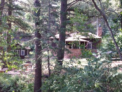 Photo for Charming, historic, Cascade Cabin nestled at the base of Pikes Peak.