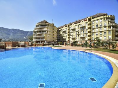Photo for 2 bedroom Apartment, sleeps 4 in Denia with Pool, Air Con and WiFi