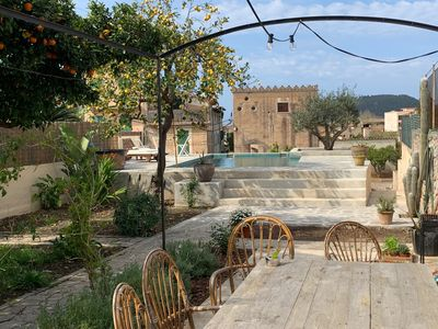 Photo for Large stunning, just renovated townhouse with pool in the heart of Soller