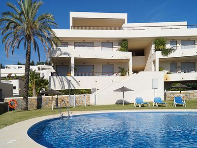 Photo for 2 bedroom Apartment, sleeps 4 in Marbella with Pool, Air Con and WiFi