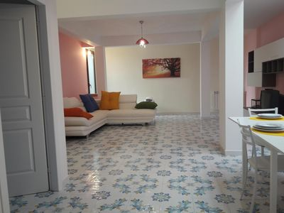Photo for Stylish basement apartment Sessa Fund, in villa