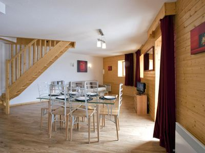 Photo for Surface area : about 35-40 m². Some in duplex. Living room with bed-settee, dining area, armchair