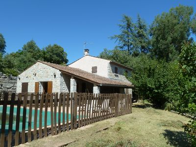 Photo for Labeaume (07) - Pretty house in a village with character - Pool