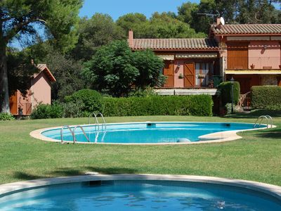 Photo for House in Llafranc, community with communal pool and garden