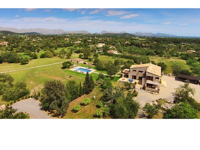 Photo for Olivo De La Roca is a Luxurious Villa Near the Golf of Pollensa with 4 bedrooms and 4 bathrooms