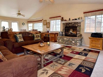 Photo for Cozy Bear Haven: Close to Bear Mtn! Hot Tub! Natural Gas BBQ! Internet! Quiet Neighborhood!