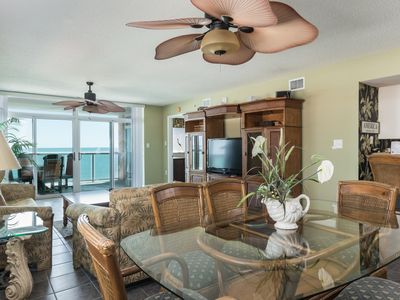 Photo for Blue Water Keyes -  602 Spacious 4 bedroom condo with a fantastic ocean front view!