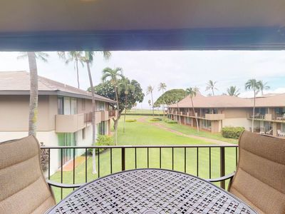 Photo for NEW LISTING! Oceanview condo w/ A/C, 3 shared pools & hot tub, near the beach