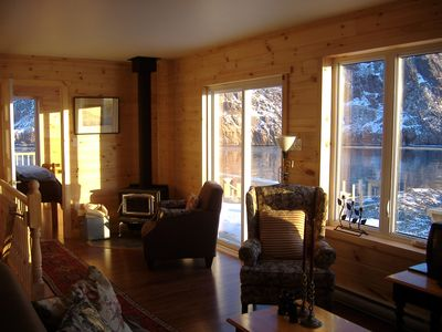 Photo for VERY BEST VIEW IN THE CITY, COTTAGE WITH WRAP-AROUND DECK, RIGHT ON THE NARROWS.