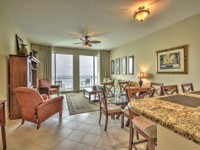 Photo for 2304 Aqua 2br 2ba 23rd Floor Condo Gulf Front W/Beach Service 2019