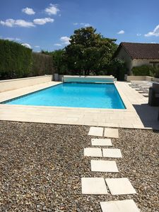 Photo for Fabulous! Spacious 5 bedroom house with heated pool set in beautiful countryside
