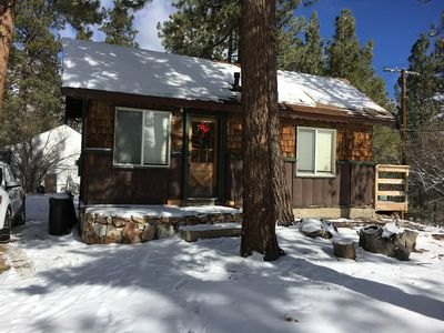 Photo for Cozy Cabin II   Perfect location for this cabin! Close to Snow Summit ski resort