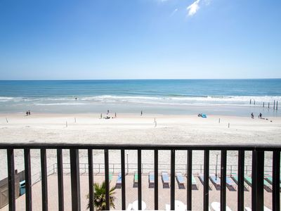 Photo for Perfect Beachfront Condo in the Heart of Daytona!