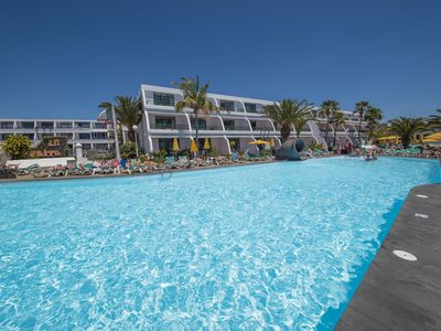 Photo for Refurbished modern apartment located La Peñita holiday complex. From 350gbp/wk.