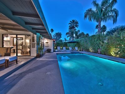 Photo for Ranch Style Home in Central Location +Large Pool & Spa area + Great View +Walk to Uptown Restaurants