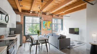 Photo for Modern Luxury Loft in Gastown Heritage Building