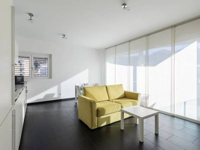 Photo for Modern apartment with terrace a few step from Lake Lugano - ROGGIA 9