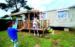 Photo for Camping Pirons **** - mobile home 6 people - 6 places (between 6 and 10 years)
