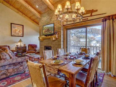 Photo for Bear Claw 613: 4 BR / 4 BA condo in Steamboat Springs, Sleeps 10