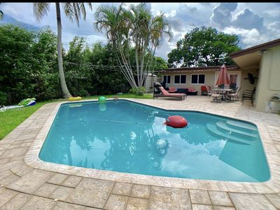 Photo for Entire house- Sleeps 9 with a beautiful pool