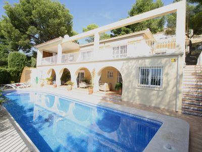 Photo for Holiday villa for 8 people near Altea La Vella, overlooking Altea