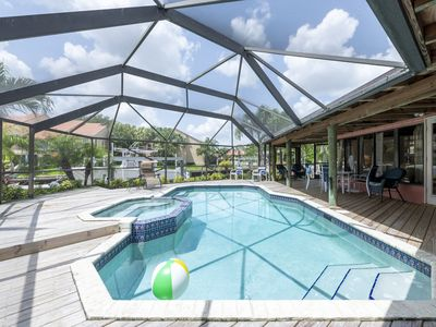 Photo for 4BR Palm Beach Waterfront Home w/Private Dock&Pool
