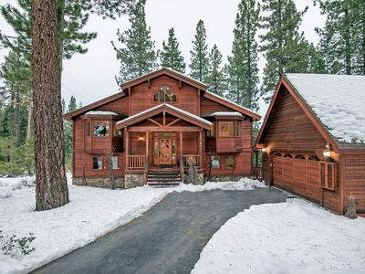 Photo for 10% off at Box Nest Lodge!  | Forest Views | Covered Hot Tub | Concierge Service
