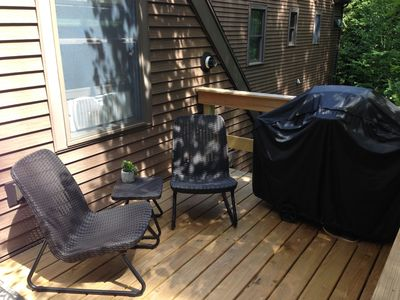 Another view of your deck at Treetop-Retreat
