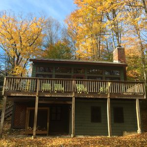 Gorgeous Ski Chalet with Game Room & Hot Tub on Okemo Mt. under 1 mile to base!