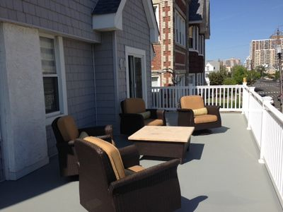 Photo for Great LOCATION, LOCATION, LOCATION 1/2 Block to Beautiful Beach!!!!  Party Deck!