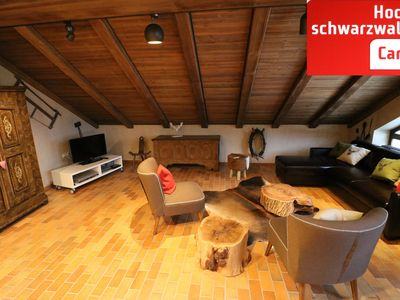 Photo for Schwarzwaldblick, private sauna, Hochschwarzwaldkarte, within walking distance to the ski lift
