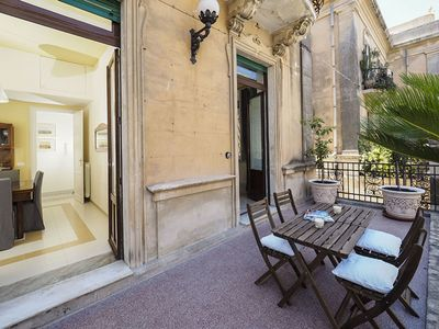 Photo for Zia - Apartment for 4 People in Noto, Sicily, A/C, WiFi