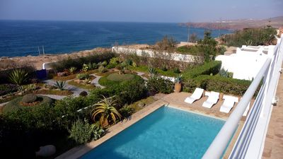 Photo for Beautiful villa with pool, amazing sea view (8 people)