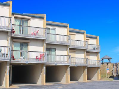 Photo for Sea Mist Oceanfront 3 Bedroom Condo Perfect for Families w/ Community Pool!