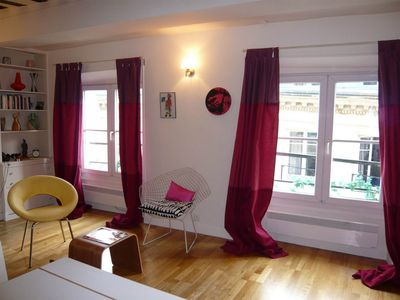 Photo for S02167 - Charming studio for 2 people in the Montorgueil area