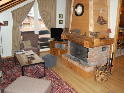 Photo for Beautiful Apartment chalet atmosphere in the heart of Val d'Isère