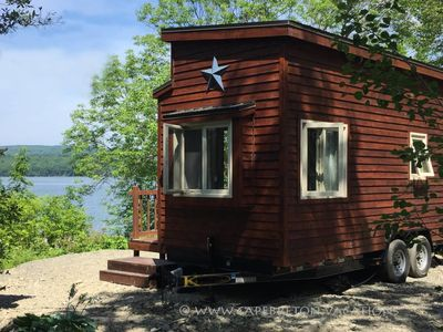 Photo for Tiny House on Lake Ainslie 13 miles to Inverness