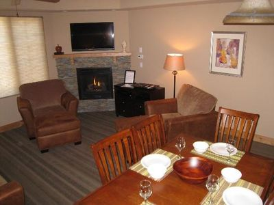 Enjoy a home cooked meal in this comfortable condo
